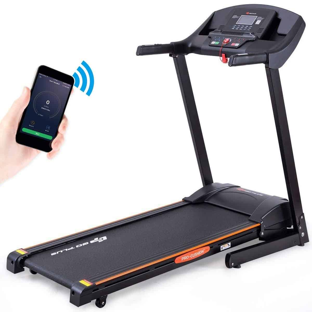 GoPlus 2.5HP folding treadmill