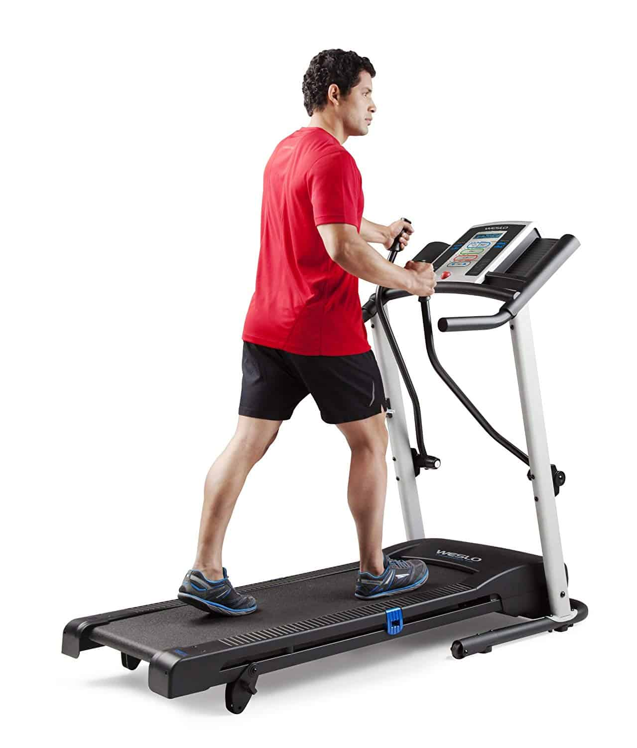 Treadmill exercise using Weslo Crosswalk 5.2T