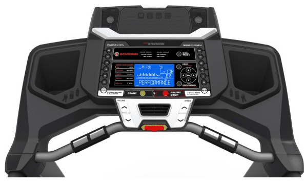 Schwinn 830 Treadmill Dashboard