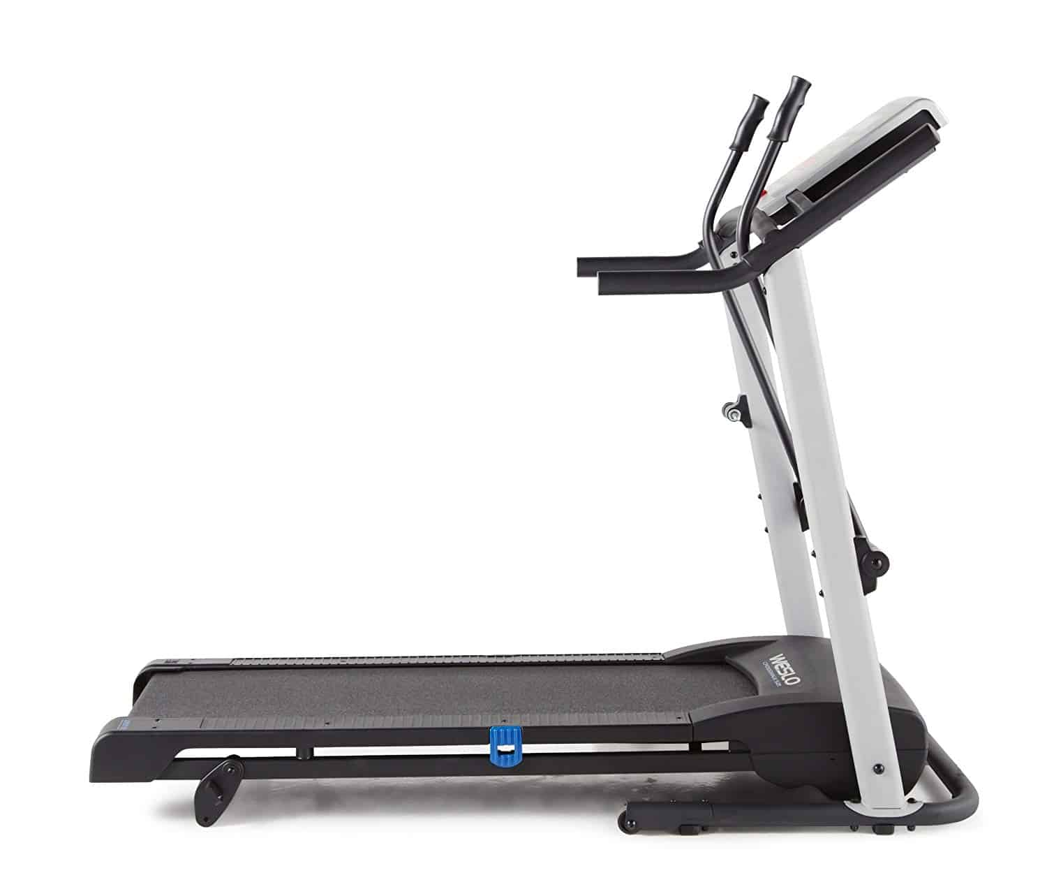 side view of Weslo Crosswalk 5.2T Treadmill