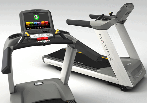 2 Matrix treadmills and Matrix T7xe Treadmill on Behance