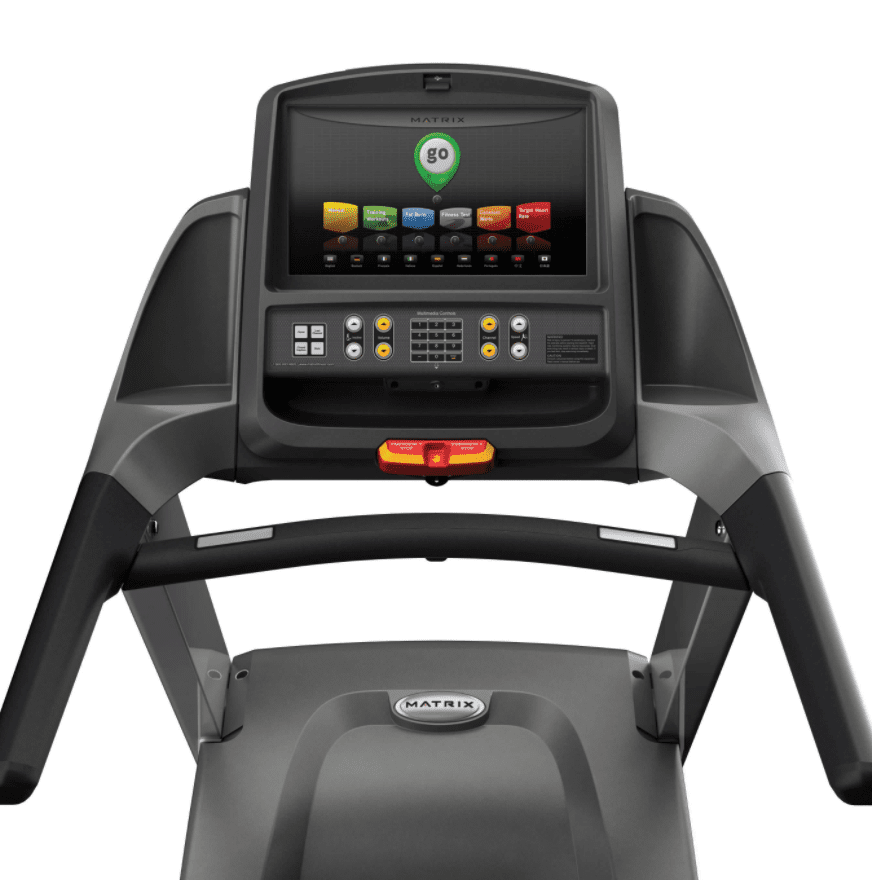 Matrix T3xe Treadmill's Dashboard