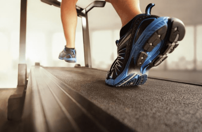 Best Treadmill Shoes color black and blue